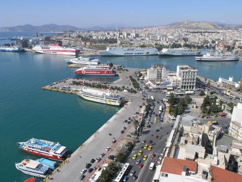 Il porto del Pireo
