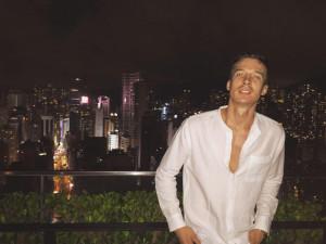 La vista su Hong Kong
