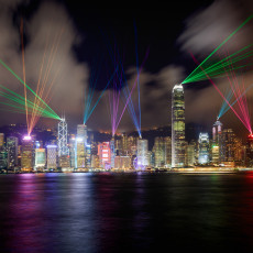Symphony of Lights a Hong Kong