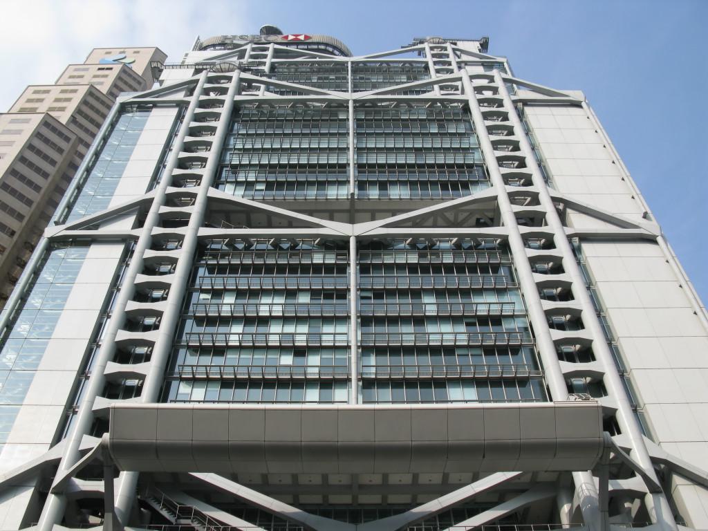 HSBC Building - Feng Shui a Hong Kong