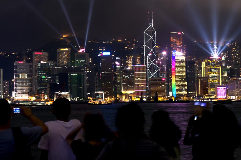 Symphony of Lights a Hong Kong