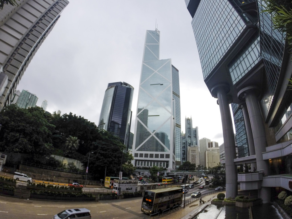 Bank of China Tower - Feng Shui a Hong Kong